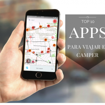 Top 10 apps per viatjar en camper